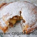 Mini-tarte cu mere, nuci si stafide – Moulinex pie and co