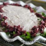Salata de icre de scrumbie cu gris